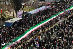 راهپیمایی ۲۲ بهمن در شیراز