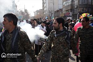 راهپیمایی با شکوه ۲۲ بهمن در مشهد
