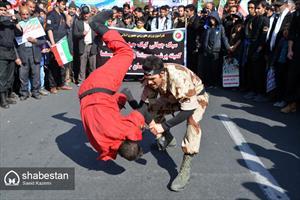 راهپیمایی ۲۲ بهمن در بیرجند