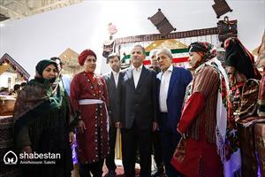افتتاح نمایشگاه تولیدات روستایی