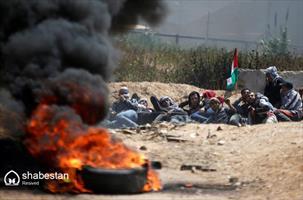 ناآرامی در مرز فلسطین