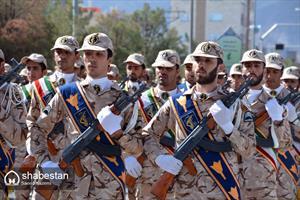 رژه روز ارتش در بیرجند