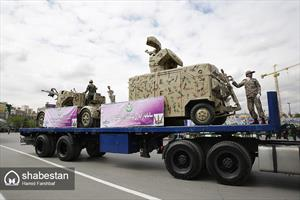 رژه روز ارتش در مشهد