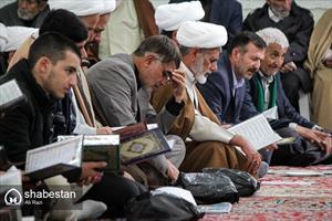 مراسم سوگواری رحلت آیت الله مهمان نواز در بجنورد