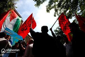 تجمع مردمی محکومیت جنایات رژیم صهیونیستی و آمریکا