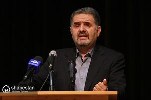 فرج الله رجبی، نماینده مردم شیراز در مجلس شورای اسلامی در جلسه شورای اداری استان فارس