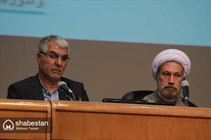حجت الاسلام دژکام و مهندس تبادار در جلسه شورای اداری استان فارس