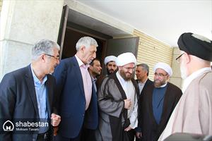 مراسم استقبال از امام جمعه جدید شیراز