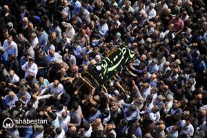 مراسم تشییع پیکر حجتالاسلام والمسلمین سید مهدی طباطبایی