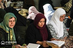 تلاوت قرآن کریم  در مسجد جامع سنندج