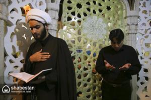 احیای شب نوزدهم ماه مبارک رمضان در حرم حضرت معصومه(س)