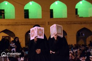 مراسم احیای شب بیست و یکم ماه رمضان در بیرجند