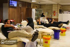 نذر فرهنگی خون در شب بیست و سوم ماه رمضان