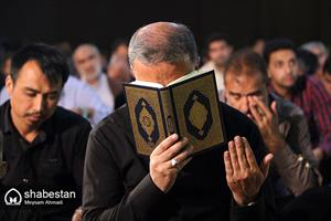 مراسم احیاء سومین شب از لیالی قدر در کرمان