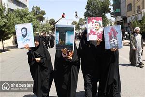 راهپیمایی روز قدس در کرمان