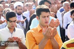 اقامه نماز عید فطر در زارچ