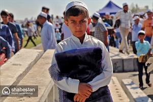 نماز عید فطر در بندرترکمن
