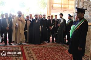 تشرف اعضای شورای هماهنگی بزرگداشت دهه کرامت کشور به زیارت آستان مقدس شاهچراغ (ع)