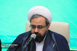 دکتر حجت الاسلام حبیب رضا ارزانی، دبیر ستاد عالی کانون های مساجد کشور در جمع مدیران کانون های شیراز