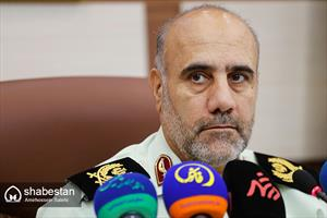 سردار رحیمی فرمانده انتظامی تهران