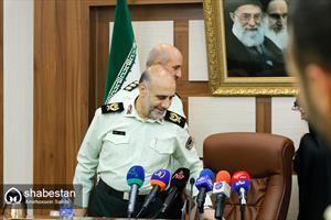 نشست خبری فرمانده انتظامی تهران