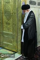 غبارروبی مضجع مطهر حضرت امام رضا (علیهالسلام)