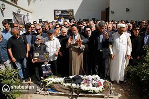 تشییع پیکر سید ضیاء الدین دری