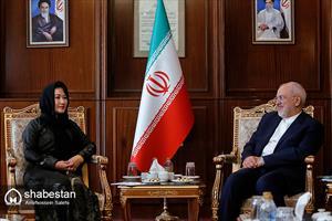دیدار معاون وزیر خارجه مغولستان با ظریف