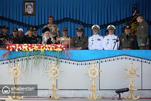 حضور فرمانده معظم کل قوا در مراسم تحلیف دانشجویان دانشگاههای افسری ارتش
