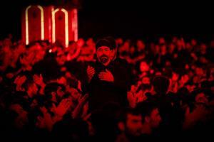تصویری/محمود کریمی شب دوم محرم (زمینه)