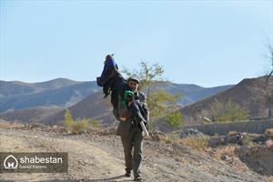 سلام علم ها در روستای چاج