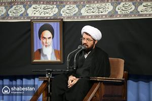 مراسم عزاداری شام غریبان در حسینیه امام خمینی(ره)