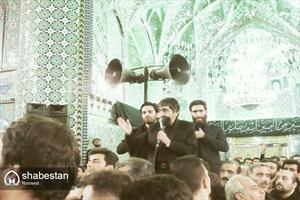 حال و هوای عاشورای حسینی در حرم هلال بن علی(ع) آران و بیدگل