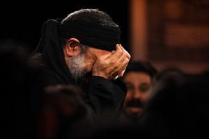 تصویری/محمود کریمی شب پنجم محرم (زمینه)