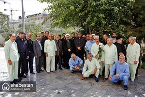 حضور حجت الاسلام ارزانی در آسایشگاه نیایش