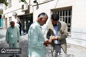 حضور دبیر ستاد عالی کانون های مساجد کشور در آسایشگاه نیایش