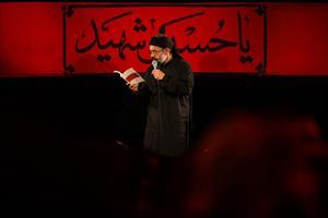تصویری/محمود کریمی شب نهم محرم (زمینه)
