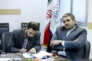 جلسه بررسی نحوه همکاری در طرح سفیران اجتماعی