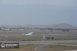 برج مراقبت فرودگاه شیراز - پرواز ایران ایر هما