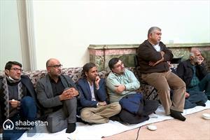 دیدار جمعی از بازیگران، کارگردانان و تهیهکنندگان سیما با رهبر انقلاب