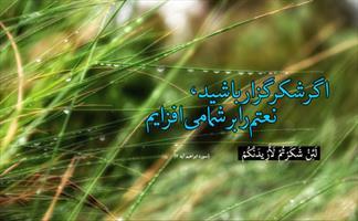 عکس نگاشت/ نعمتم را بر شما میافزایم...