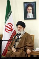 دیدارمسئولان کنگره شهدای خراسان جنوبی با رهبر انقلاب اسلامی