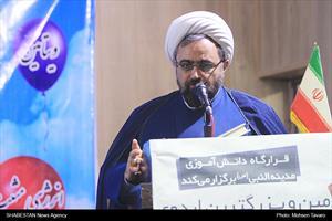 دکتر حجت الاسلام حبیب رضا ارزانی در مراسم بزرگترین اردوی دانش آموزی کشور در شیراز