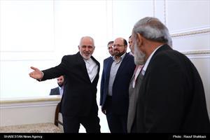 دیدار محمود الزهار با ظریف