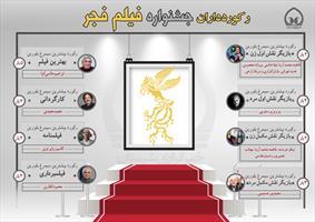 اینفوگرافی/ رکوردداران جشنواره فیلم فجر