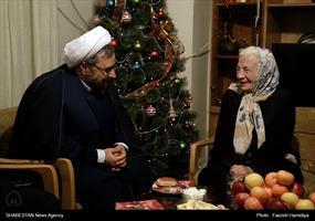 دیدار رئیس ستاد کانونهای مساجد با خانواده شهید ژرژ کشیش هارطون