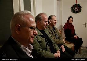 دیدار رئیس ستاد کانونهای مساجد با خانواده شهید ژرژ کشیش هارتون
