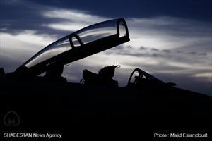 رزمایش شبانه جنگنده های ارتش