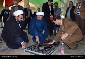 حضور دبیر ستاد عالی کانونهای مساجد کشور در گلزار مطهر شهدای فردوس