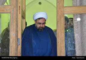 حضور دبیر ستاد عالی کانونهای مساجد کشور در مسجد جامع فردوس